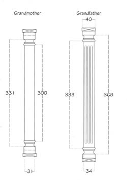 Case Accessories Pillar Drawing: