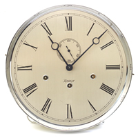 Dial 245: Kieninger 274mm silver face Dial with Chrome rim (face scratched)