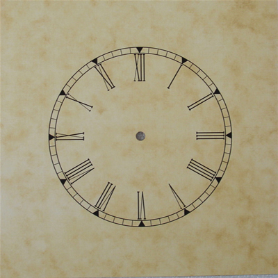 Dial 084: Dial including Hands 195 x 195mm