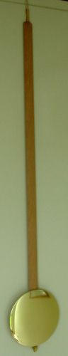 Pendulum 083: Kieninger 80cm x 140mm Timber Pendulum; 19mm wide stick