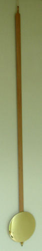 Pendulum 084: Kieninger 93cm x 140mm Timber Pendulum; 19mm wide stick
